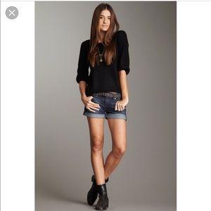 Joes Jeans Sammy Roll Hem Denim Jean Shorts 27